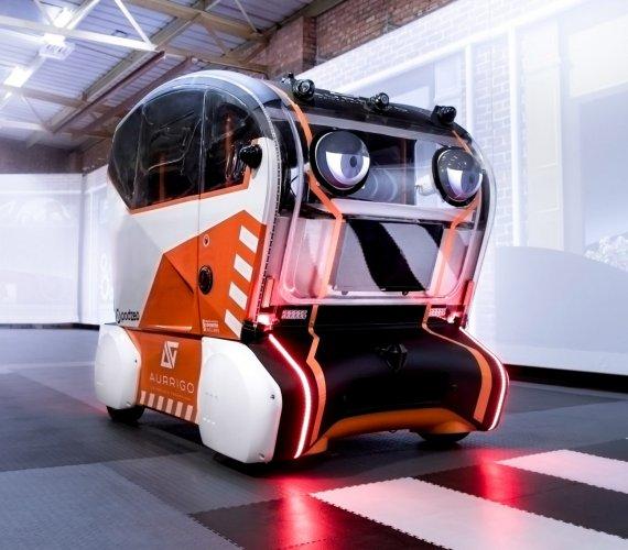 Autonomiczny samochód bezpieczny dla pieszych
