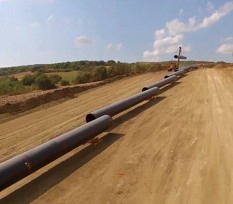 Gazociąg TAP: 89% rurociągu jest już zainstalowane