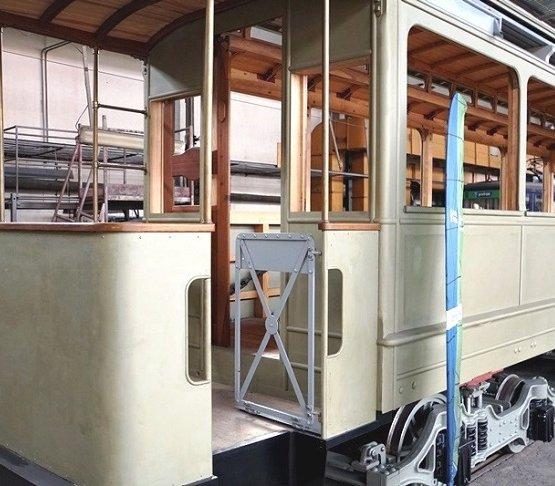 Wrocław remontuje ponad 100-letni tramwaj