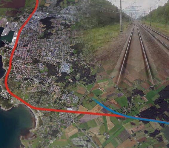 Szwecja inwestuje w transport kolejowy, budując tunele