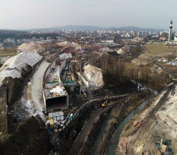 Trasa Łagiewnicka w Krakowie – zwiedź z nami plac budowy!