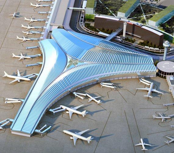 Nowy terminal portu lotniczego w Chicago