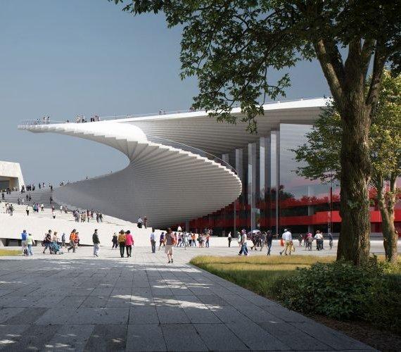 """Shanghaj: design budynku opery """"przebije"""" popularnością ten w Sydney?"""