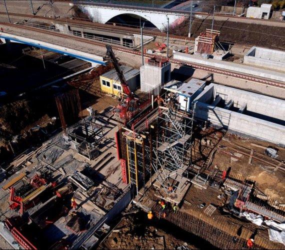 Przystanek kolejowy Kraków Bronowice: jak przebiega budowa?