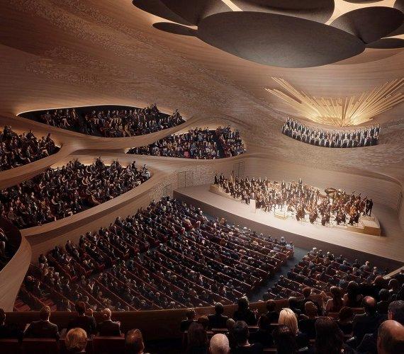 Dach w kształcie fali dźwiękowej: nowa opera w Rosji