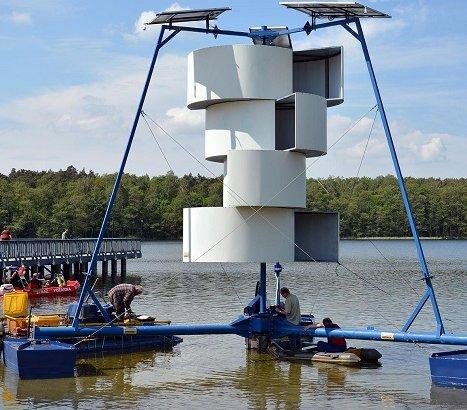 Poznań: wyremontowano aerator na Jeziorze Strzeszyńskim