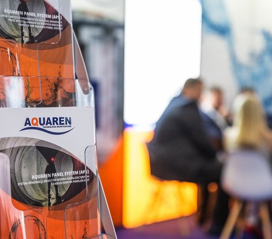 Aquaren na Targach WOD-KAN 2019 w Bydgoszczy