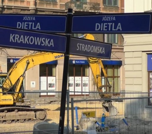 Kraków: przedłuży się remont ul. Krakowskiej