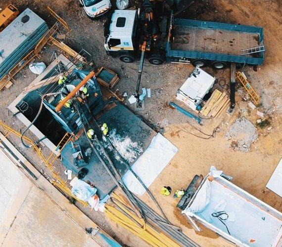 Renowacja wodociągu w Barcelonie