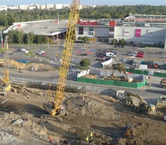 Warszawa: budowa metra na Bemowie