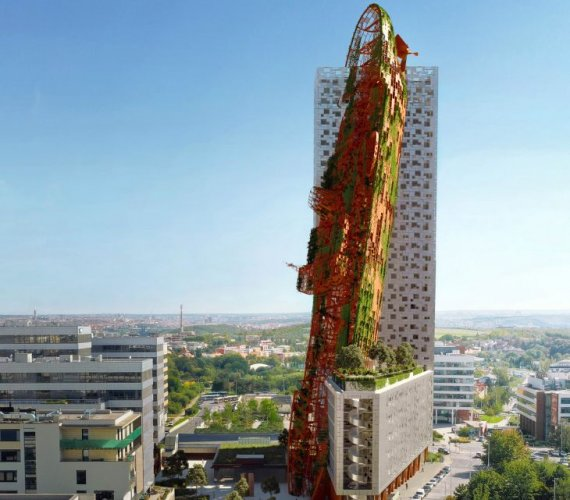Najwyższym budynkiem w Czechach będzie wrak statku