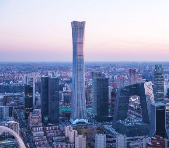 China Zun: najwyższy wieżowiec w Pekinie
