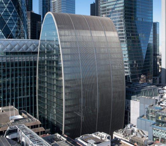 Puszka szynki obok Korniszona: nowy biurowiec w londyńskim City