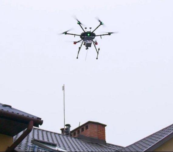 W Krakowie dron sprawdzi czystość powietrza. Będą mandaty?