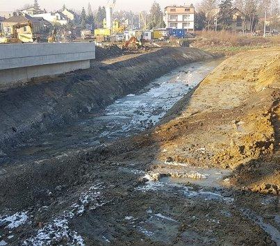 Trasa Łagiewnicka: prace wykonano w 50%
