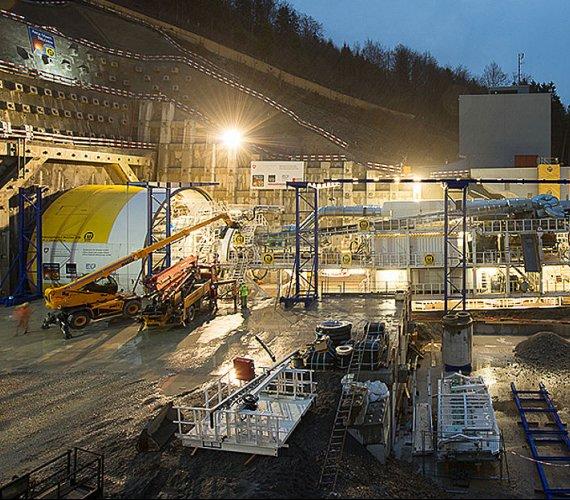 Jak drążony jest tunel maszyną TBM? Przykład ze Szwajcarii