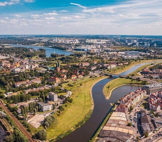 Zmiany klimatu: Poznań stawia na retencję