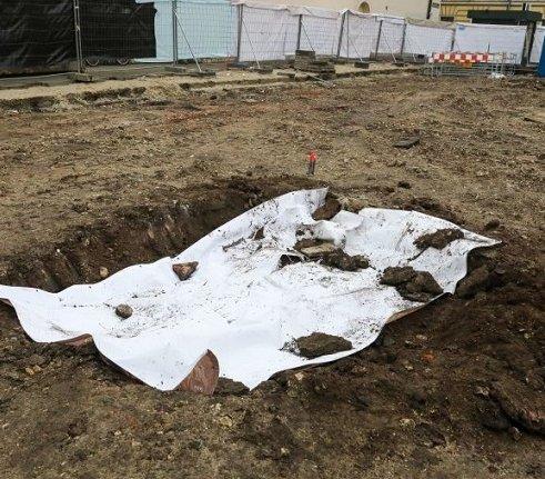 Ludzkie szczątki na placu budowy w Krakowie