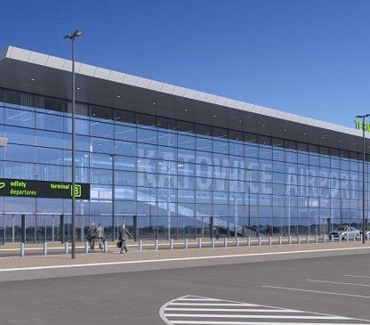 Trwa rozbudowa lotniska Katowice-Pyrzowice