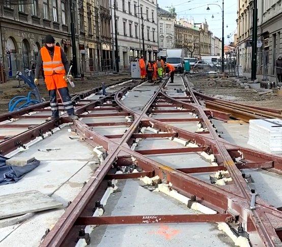 Kraków: kiedy skończy się remont ul. Krakowskiej?