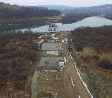 Pół roku budowy mostu w Kurowie na DK75