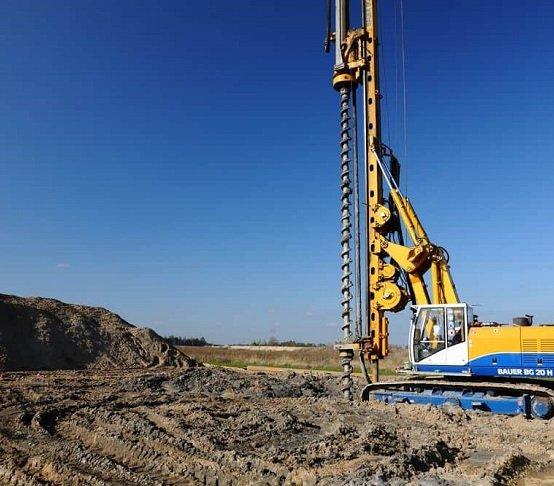 Wzmocnienie podłoża na budowie farmy Pomerania
