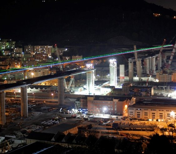 Wiadukt w Genui: promień nadziei w czasach zarazy