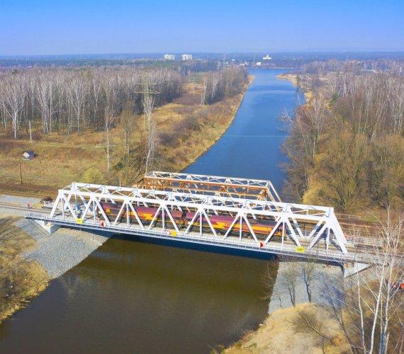 Most nad Kanałem Kędzierzyńskim gotowy