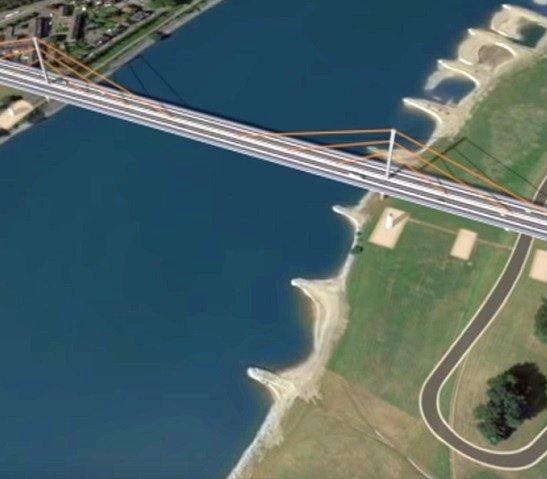Powstanie najdłuższy taki most w Niemczech