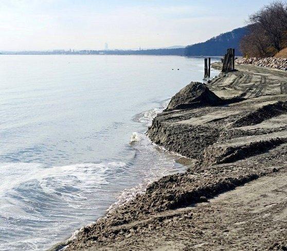 Plaża w Gdyni Orłowie odbudowana. Ile wykorzystano piasku?