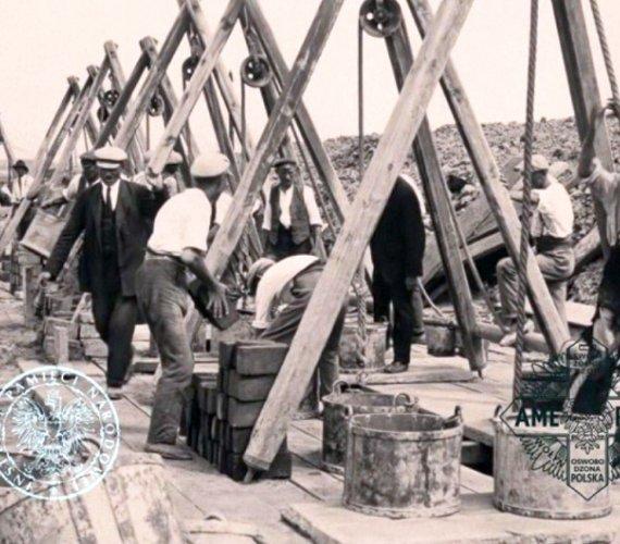 Odnaleziono prawie 100-letni film z budowy kanałów w Łodzi