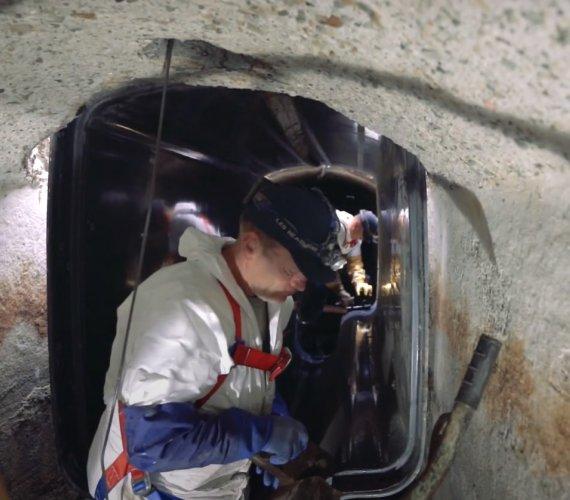 Do oczyszczalni Kujawy ścieki popłyną kolektorem z lekkich paneli