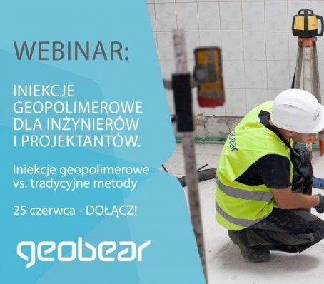 Geobear: iniekcje polimerowe a metody tradycyjne – webinar