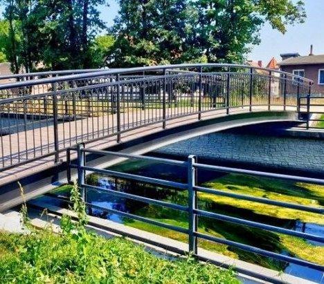 Gdańsk: kładka nad Kanałem Raduni już otwarta