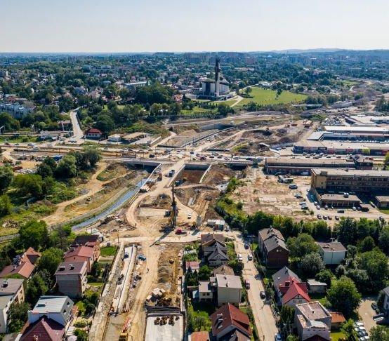 Trasa Łagiewnicka w Krakowie: powrót tramwajów