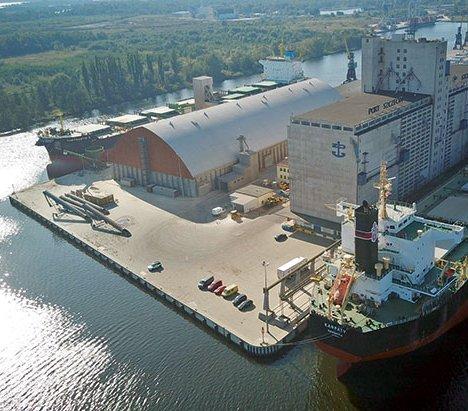 Przebudowa infrastruktury kolejowej w portach Szczecin i Świnoujście