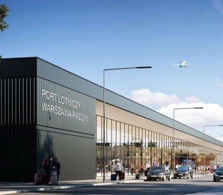 Jak wygląda budowa terminala lotniska w Radomiu?