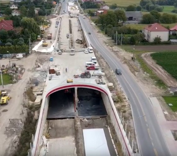 Tunel, most, wiadukty – duża inwestycja drogowa w Krakowie