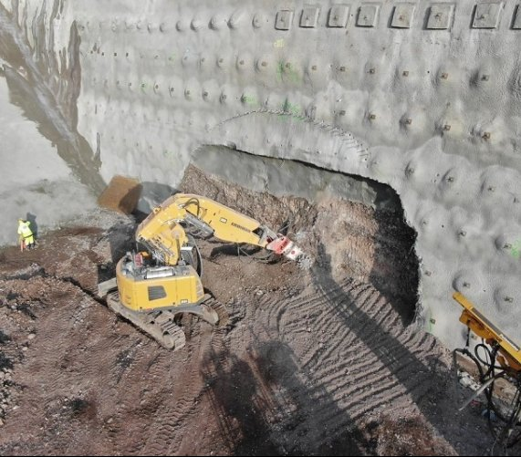 Droga S3: drążenie tunelu przez Góry Wałbrzyskie