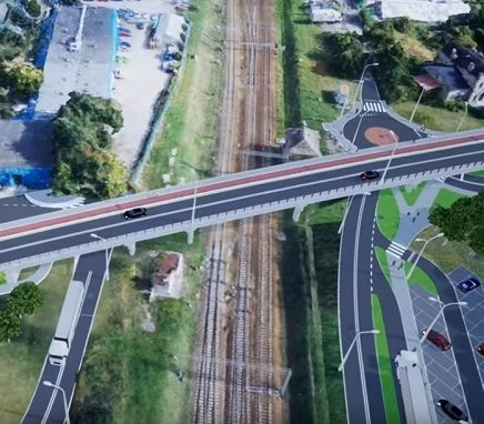 Taki będzie sześcioprzęsłowy wiadukt w Skierniewicach