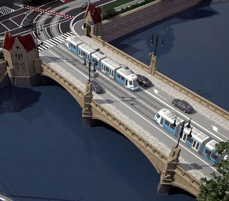 Trwa remont mostów Pomorskich we Wrocławiu