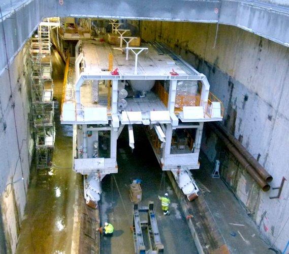 Tunel w Świnoujściu w pierwszym miesiącu nowego roku
