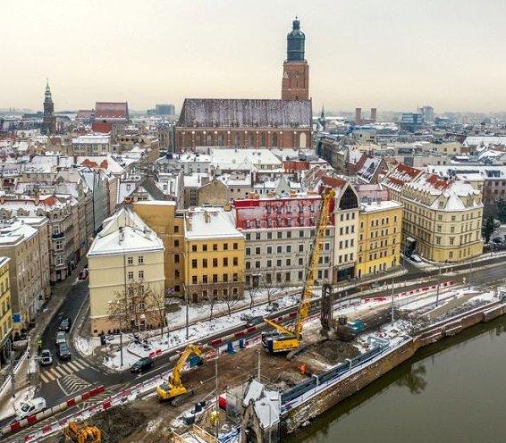 Wrocław: coraz bliżej wiercenia pod Odrą