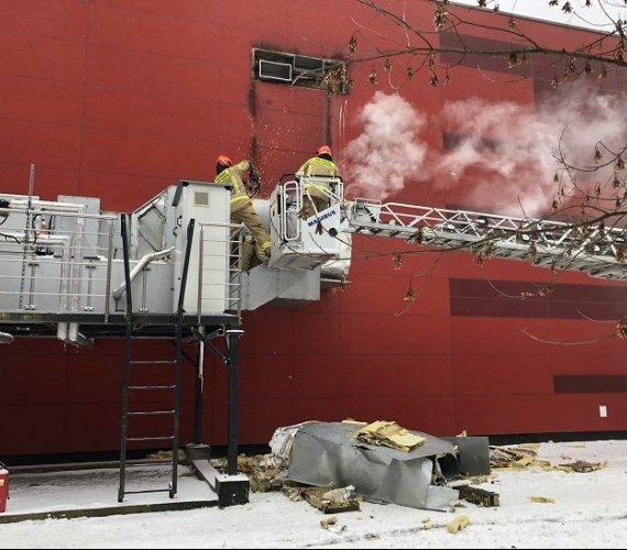Pożar archiwum Urzędu Miasta Krakowa