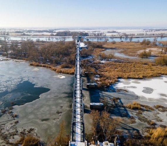 Przebudowa mostu Siekierki–Neurüdnitz dobiega końca
