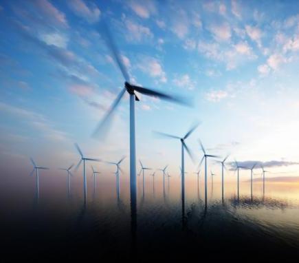 Demontaż pierwszej morskiej farmy wiatrowej
