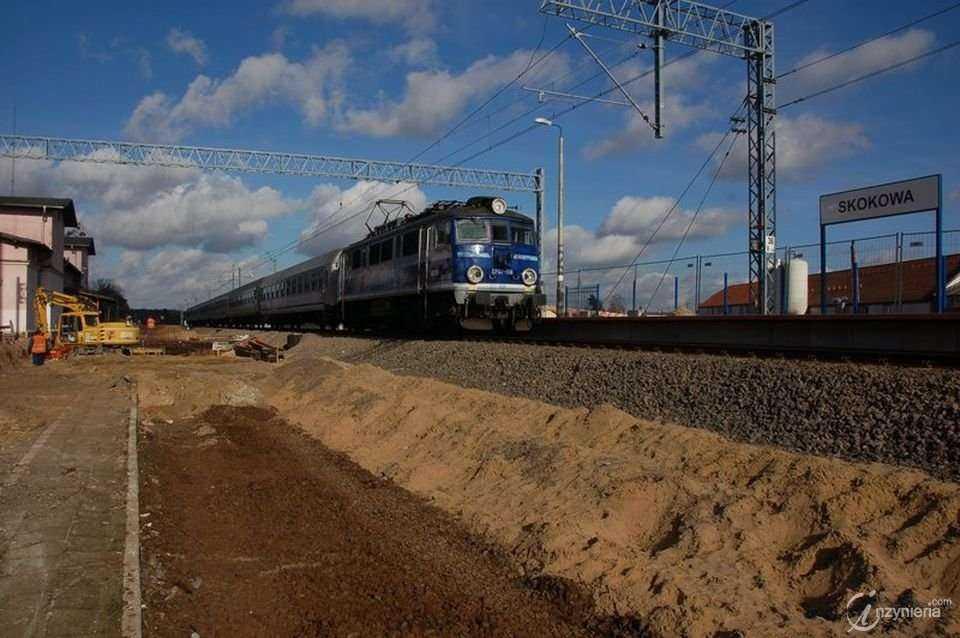 Modernizacja linii kolejowej E59 Wrocław - Poznań