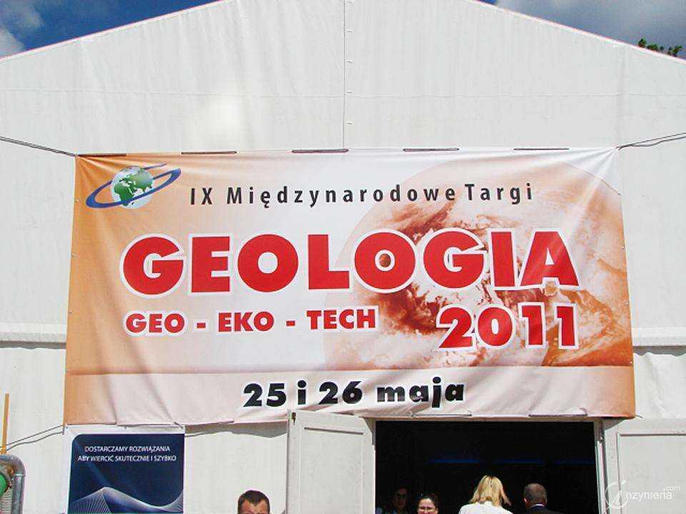 IX Międzynarodowe Targi GEOLOGIA GEO-EKO-TECH 2011