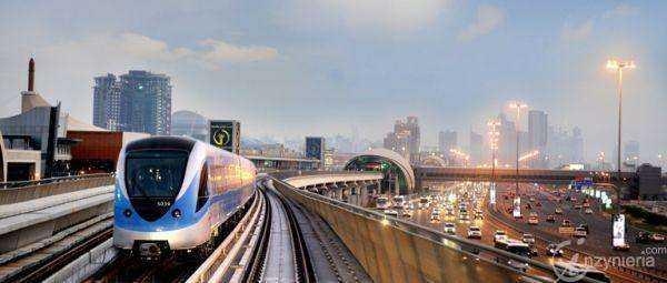 Metro w Dubaju