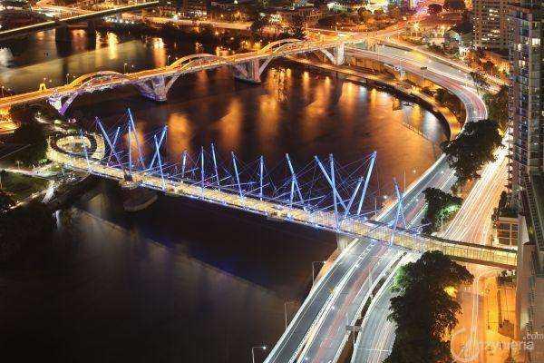 Otwarto Kurilpa Bridge w Brisbane